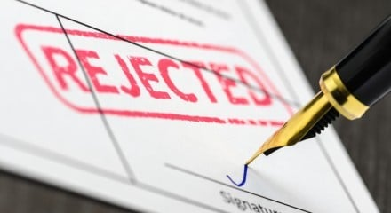 Strike Off Application Has Been Rejected