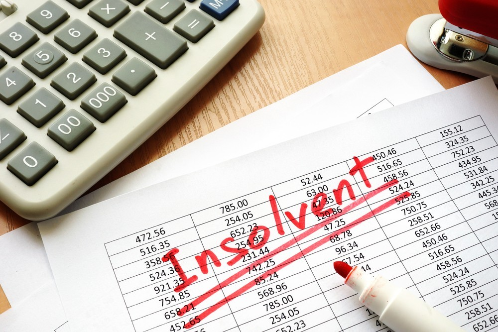 How do I know if my business is insolvent?