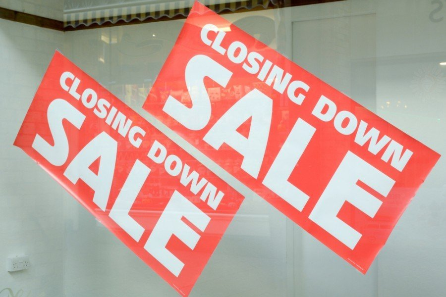 What's the difference between liquidation and ceased trading?