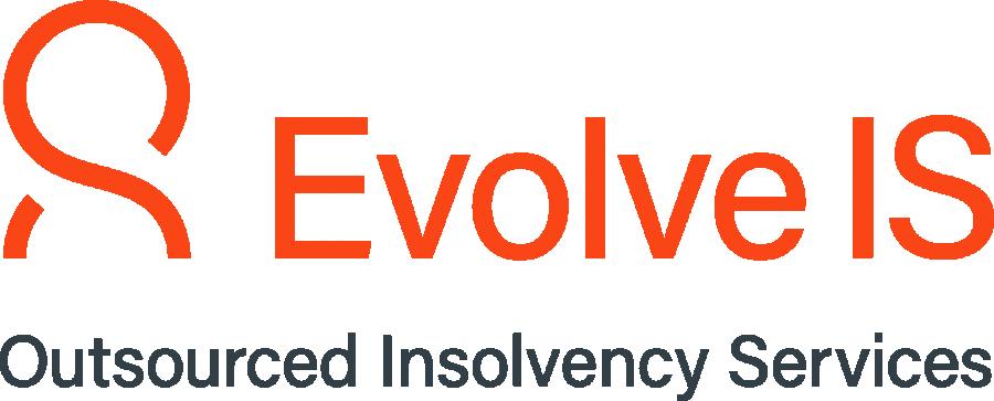 Logo Evolve With Tagline